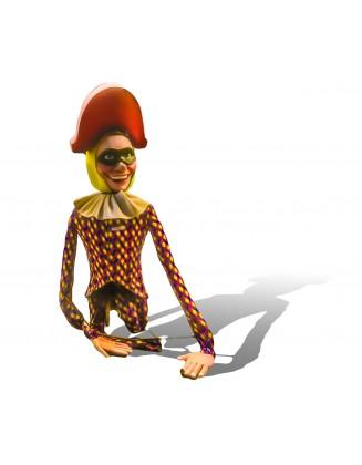 mannequin à porter arlequin