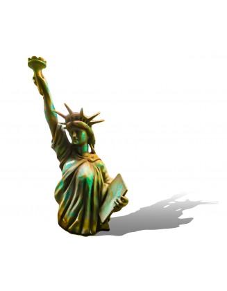 mannequin statue de la liberté