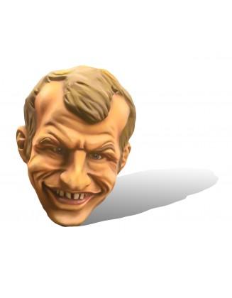 Petite tête d'Emmanuel Macron