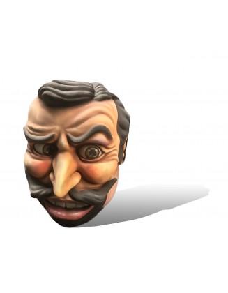 tête homme moustache